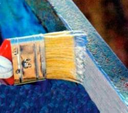 Покраска металлических поверхностей.