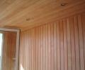 монтаж деревянной вагонки своими руками, Обшивка стен деревянной вагонкой