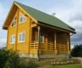 Строительство деревянных домов, Дома из клееного бруса