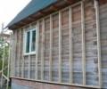 Как утеплить деревянный дом, Утепление снаружи деревянного дома
