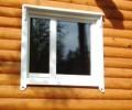 Как установить пластиковые окна в деревянном доме своими руками, Пластиковые окна в деревянном доме